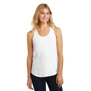 District Made® Perfect Tri Racerback Tank - Ladies