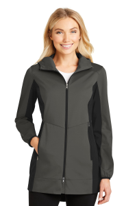 Port Authority® Ladies Active Hooded Soft Shell Jacket
